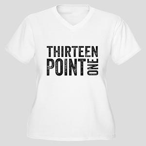 Thirteen Point One. 13.1. Half-Marathon. Plus Size