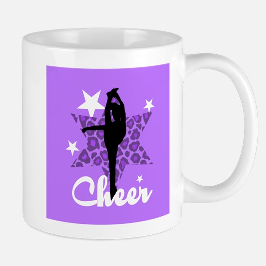 Purple Cheerleader Mug