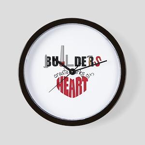 Builders Wall Clock