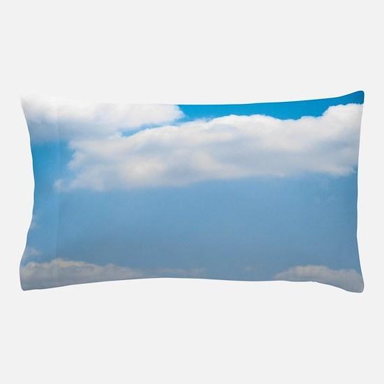 Blue sky of love Pillow Case