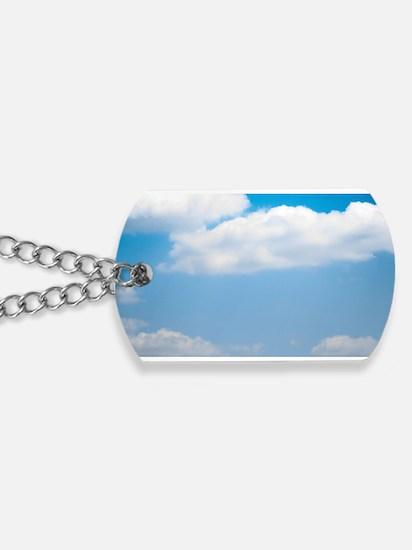 Blue sky of love Dog Tags