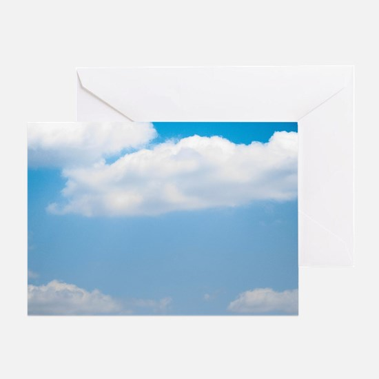 Blue sky of love Greeting Card