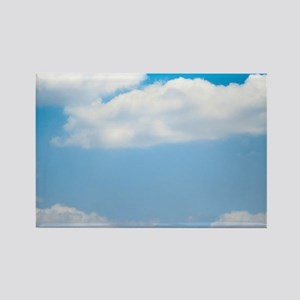 Blue sky of love Rectangle Magnet