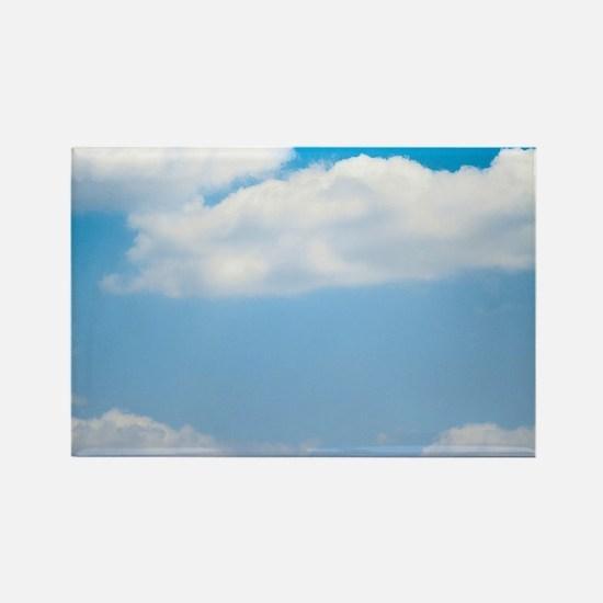 Blue sky of love Rectangle Magnet