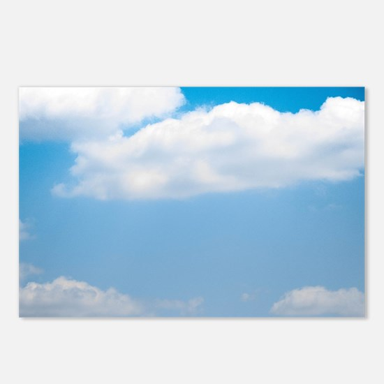 Blue sky of love Postcards (Package of 8)