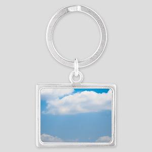 Blue sky of love Landscape Keychain