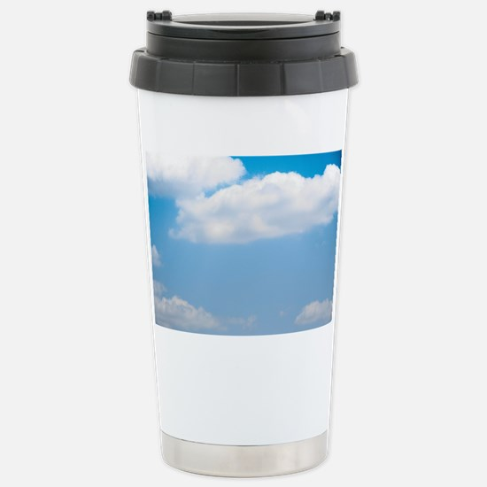 Blue sky of love Stainless Steel Travel Mug