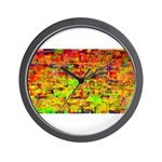 Hot wind Wall Clock