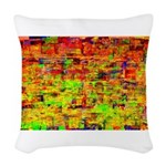 Hot wind Woven Throw Pillow