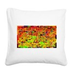Hot wind Square Canvas Pillow