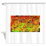 Hot wind Shower Curtain