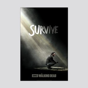 Survive The Walking Dead Mini Poster Print