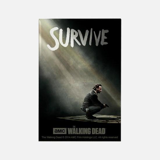 Survive The Walking Dead Magnet Magnets