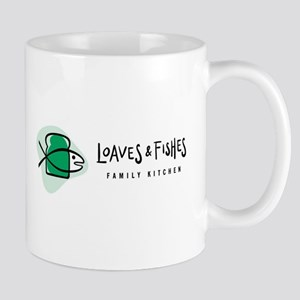 Loaves and Fishes Logo Mugs