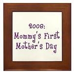 First Mother's Day Framed Tile