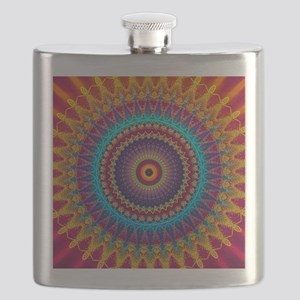 Fire and Ice mandala Flask