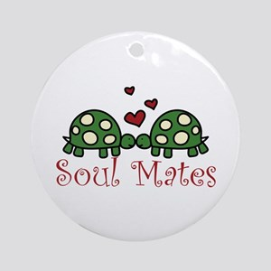Soul Mates Ornament (Round)