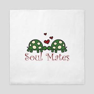 Soul Mates Queen Duvet