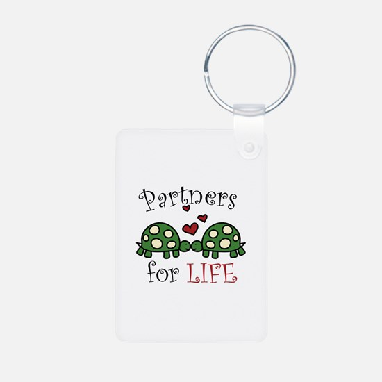 Partners For Life Keychains