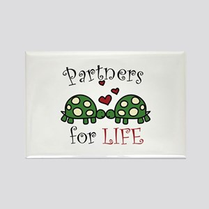 Partners For Life Magnets