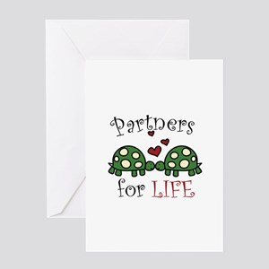 Partners For Life Greeting Cards