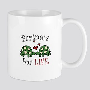 Partners For Life Mugs