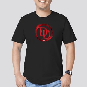 Daredevil Symbol Men's Fitted T-Shirt (dark)