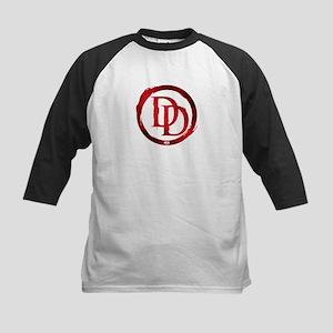 Daredevil Symbol Kids Baseball Jersey
