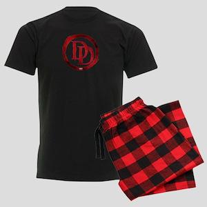Daredevil Symbol Men's Dark Pajamas