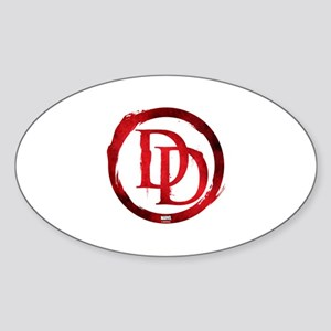 Daredevil Symbol Sticker (Oval)