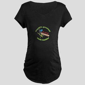 Math Teacher Maternity T-Shirt