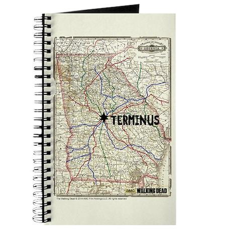 Walking Dead Terminus Map Journal