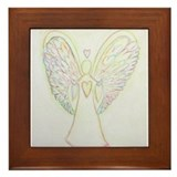 Angel Framed Tiles