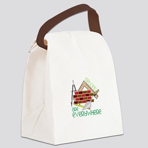 Masons Are Everywhere Canvas Lunch Bag