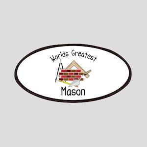 Worlds Greatest Mason Patches