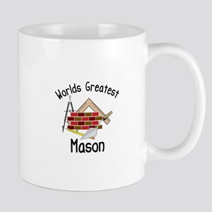 Worlds Greatest Mason Mugs