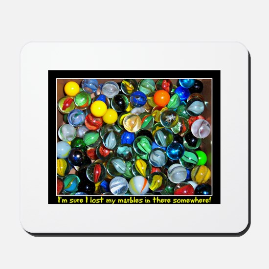 Lost Marbles Mousepad