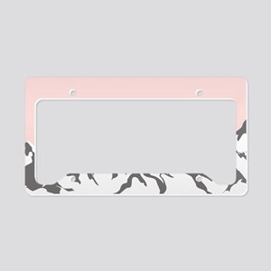 Mountain Sunrise License Plate Holder