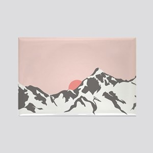 Mountain Sunrise Magnets
