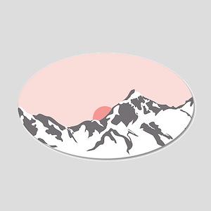 Mountain Sunrise Wall Decal