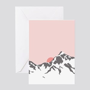 Mountain Sunrise Greeting Cards