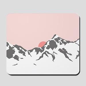 Mountain Sunrise Mousepad
