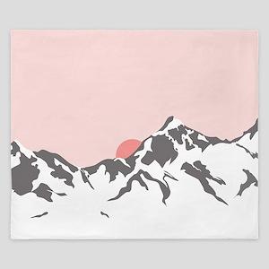 Mountain Sunrise King Duvet