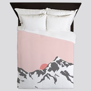 Mountain Sunrise Queen Duvet