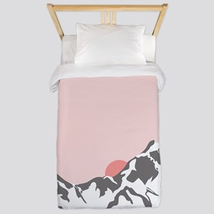 Mountain Sunrise Twin Duvet