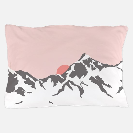Mountain Sunrise Pillow Case