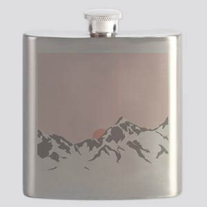 Mountain Sunrise Flask