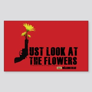 Walking Dead Look At The Flowers Sticker