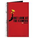 Walking Dead Look at the Flowers Journal