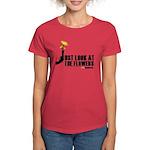 Walking Dead Look At The Flowers Women's T-Shirt
